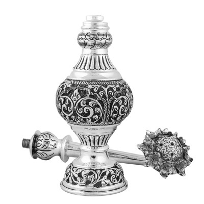 Silver Water Flask Traditionally Called Surai